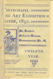Cover of Fine Art Exhibition 1892 Catalogue