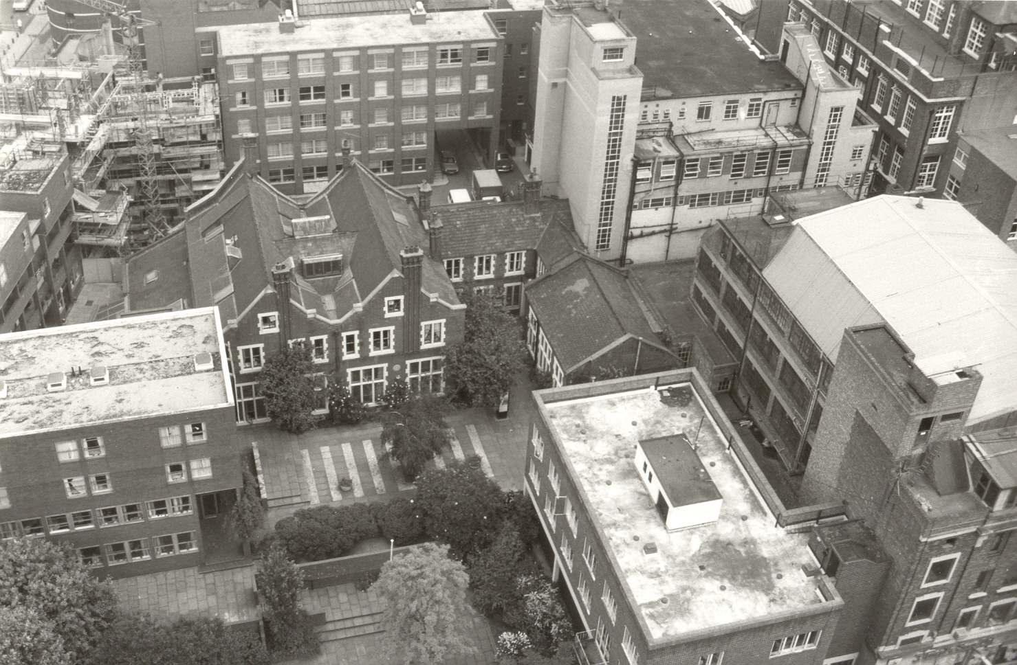 The Buildings of Toynbee Hall